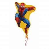 1 Adet Kikajoy Uçan Spiderman Folyo Balon 45 Cm
