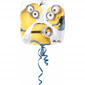 1 Adet Kikajoy Minions Kare Folyo Balon 45 Cm