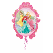 1 Adet Kikajoy Princess Oval Şekilli Folyo Balon 70 Cm