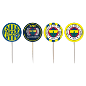 8 Adet Kikajoy Fenerbahçe Dekoratif Kürdan