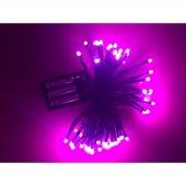 Kikajoy Pilli Led Işık Fuşya Renk 6 Mt