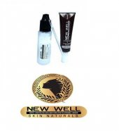 New Well Makeover Light Brown Kaş Kirpik Boyası Açık Kahve