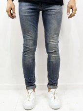 Catch Effect Mavi Düz Pantolon Full Likra