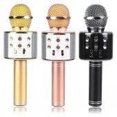 Ws 858 Bluetooth Karaoke Mikrofon Hoparlör