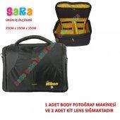 Nikon Dslr Omuz Çantası D5000 D5200 D5300 D5500