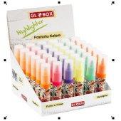 Globox Baskılı Fosforlu Kalem 36 Lı Stand Karışık Renkler 002920