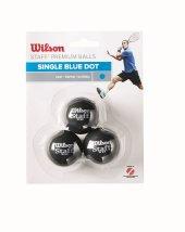 Wilson Squash Topu Staff 3 Blu Dot Wrt618000