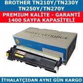 Brother Tn 210 Sarı Muadil Toner Tn 230 Tn 250 Tn 270