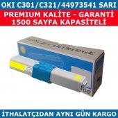 Okı C301 C321 44973541 Sarı Muadil Toner 1.500 Sayfa