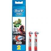 Oral B Stages Star Wars Çocuk Diş Fırçası Başlığı (Yedek)