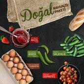 Mutlu Sebzeler Doğal Kahvaltı Paketi