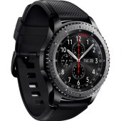 Samsung Galaxy Gear S3 Frontier (Android Ve İphone Uyumlu) Dark Gray Sm R760ndaatur (Samsung Türkiye Garantili)