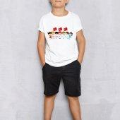 Kişiye Özel 23 Nisan Tasarımlı Beyaz Çocuk Tişört (50 Adet) E