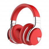 Cowın E7 Active Noise Cancelling Bluetooth Headphones Red