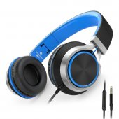 Aılıhen C8 Headphones With Microphone And Volume Control For Kids