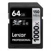 Lexar 64 Gb 1000x 4k Sd Hafıza Kartı (150 Mb S)