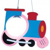 Pembeli Lokomotif Model Çocuk Odası Avizesi