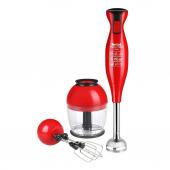 Tefal Masterblend 700 Watt Kırmızı El Blender Seti