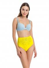 Dagi Kadın Kaplı Bikini Takımı Sarı B0118y0630sr