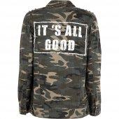 Only 15144396 Onleva Camo Oversızed Jacket Pnt Bayan Ceket