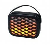 Taşınabilir Işıklı Radyolu Mikrofonlu Bluetooth Hoparlör My552bt