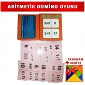 Eğitici Çocuk Oyun Kartları Aritmetik Domino Matematik