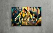 Dekoratif Soyut Kanvas Tablo