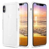 Iphone X Xs Cam Korumalı Beyaz Kılıf