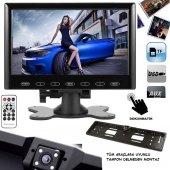 Kingvox 7 İnç Usb Sd Kart Video Araç Monitör