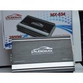 Audiomax Mx 534 2800 Watt 4 Kanal Stereo Mono Araç Tesisat Amfisi