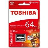 Toshiba 64 Gb Microsd Hafıza Kartı Uhs 1 C10 Thn M302r0640ea
