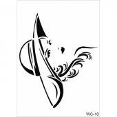 Wc10 Woman Collection Cadence A4 Stencil