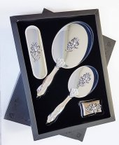 Ashley Lotus Broşlu Ayna Fırça St 2001