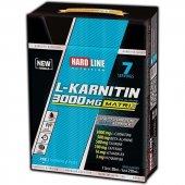 Hardline L Karnitin Matrix 3000 Mg 7 Ampul