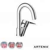 Artema Solid S Döner Borulu Lavabo Bataryası (A42442)