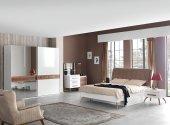 Arno Home Datça Yatak Odası Takımı (Amortisörlü)