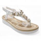 Guja 00302 Beyaz Kadın Sandalet