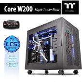Thermaltake Core W200 Superfull Tower Siyah Usb 3.0 Kasa Ca 1f5 00f1wn 00
