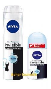 Nivea Invisible Black&white Kadın Deo. 150ml+roll On 50 Ml