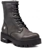 Mammamia D18kb 5070 Siyah Bayan Ayakkabı Çizme Bot Bot