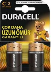 Duracell Alkalin C Orta Boy Pil 2li Paket