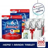 Finish Hepsibirarada Tablet 2x100+paşabahçe 6lı Su Bardağı Hediye