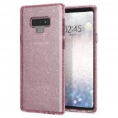 Galaxy Note 9 Kılıf, Spigen Liquid Crystal Glitter Rose