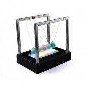 ışıklı Masa Üstü Newton Denge Topu