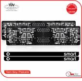 Smart Logolu Pleksi Plakalık