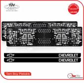 Chevrolet Logolu Pleksi Plakalık