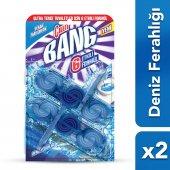 Cillit Bang Tuvalet Temizleyici Premium Tablet Mavi İkili