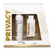 Privacy Gold Sensation Set 100ml Edt+150 Ml Deodorant Bayan