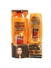 Elseve 6 Mucizevi Yağ 550ml Şampuan + 175 Ml Saç Kremi