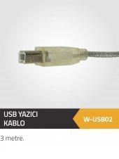 Winkel Usb Yazıcı Kablo 3 Metre